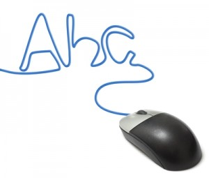 ABC computer mouse
