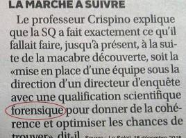 ACR-forensique-anglicisme_forensic, Dominique Fortier, révision française, réviseuse, réviseure, French Editor