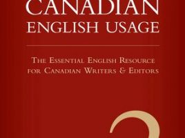 book cover of Guide to Canadian English Usage