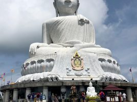 picture taken in Phuket, Thailand of the Big Buddha