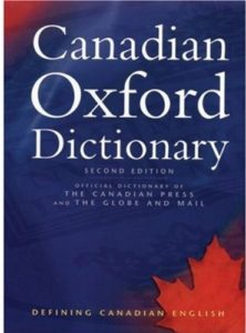 The Canadian Oxford Dictionary cover