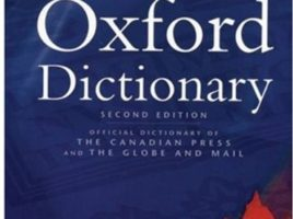 Canadian Oxford Dictionary cover
