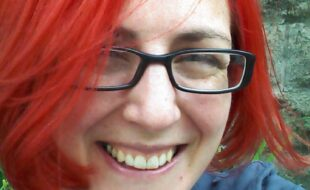 Photo of Tanya Gold by Tanya Gold (a selfie)